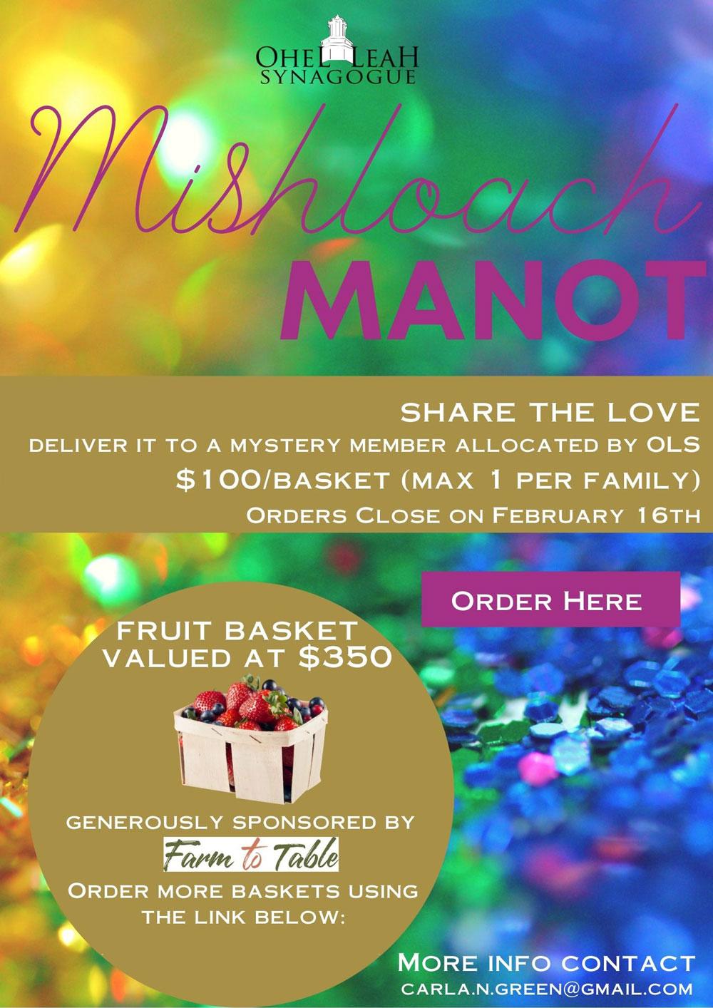Mishloach-Manot